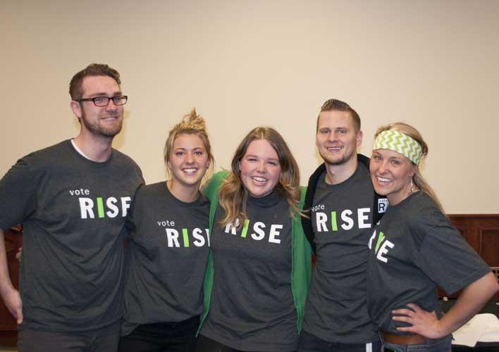 Team Rise wins 2014 UVUSA election