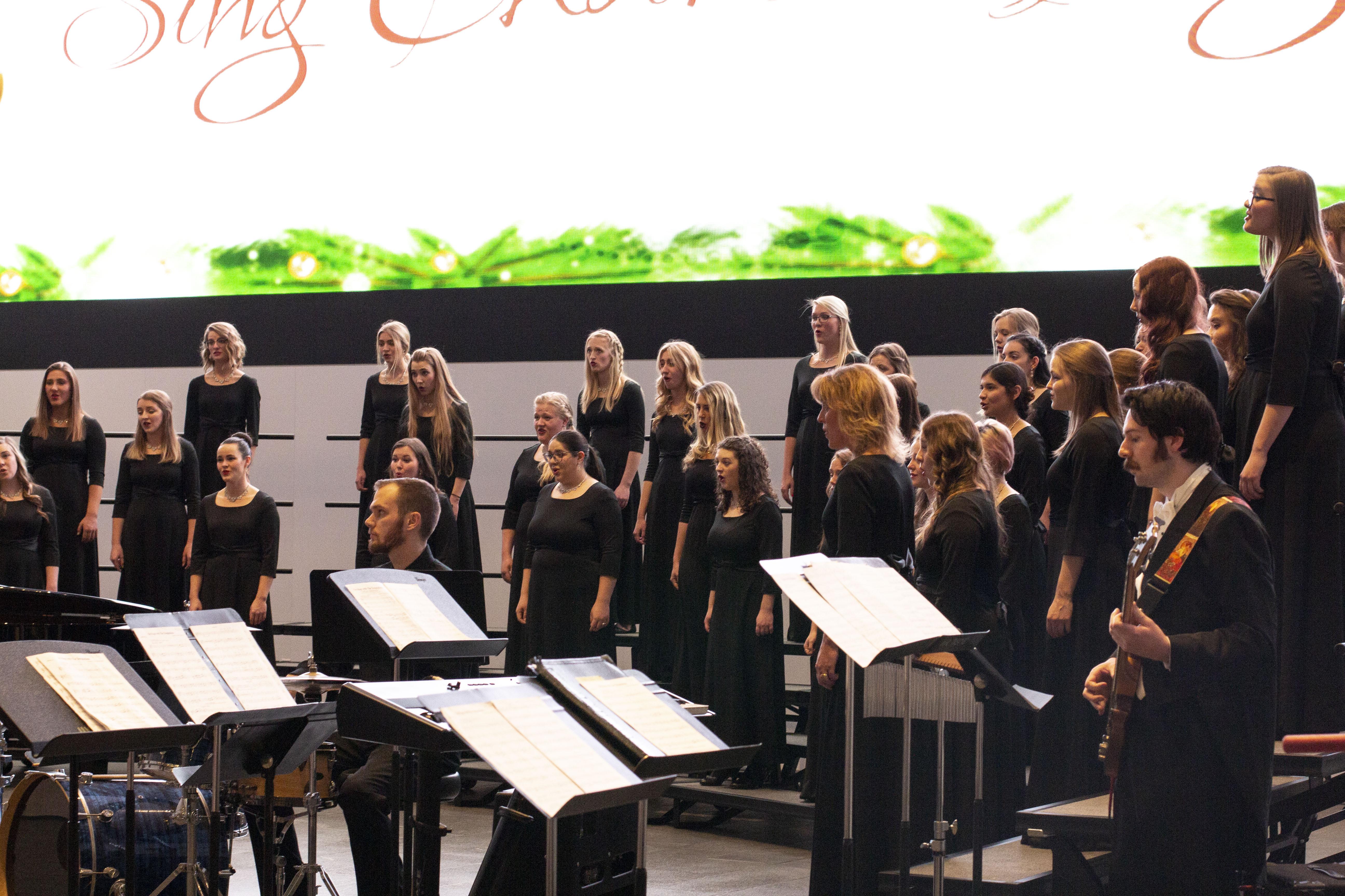 UVU choirs sing the way into Christmas season