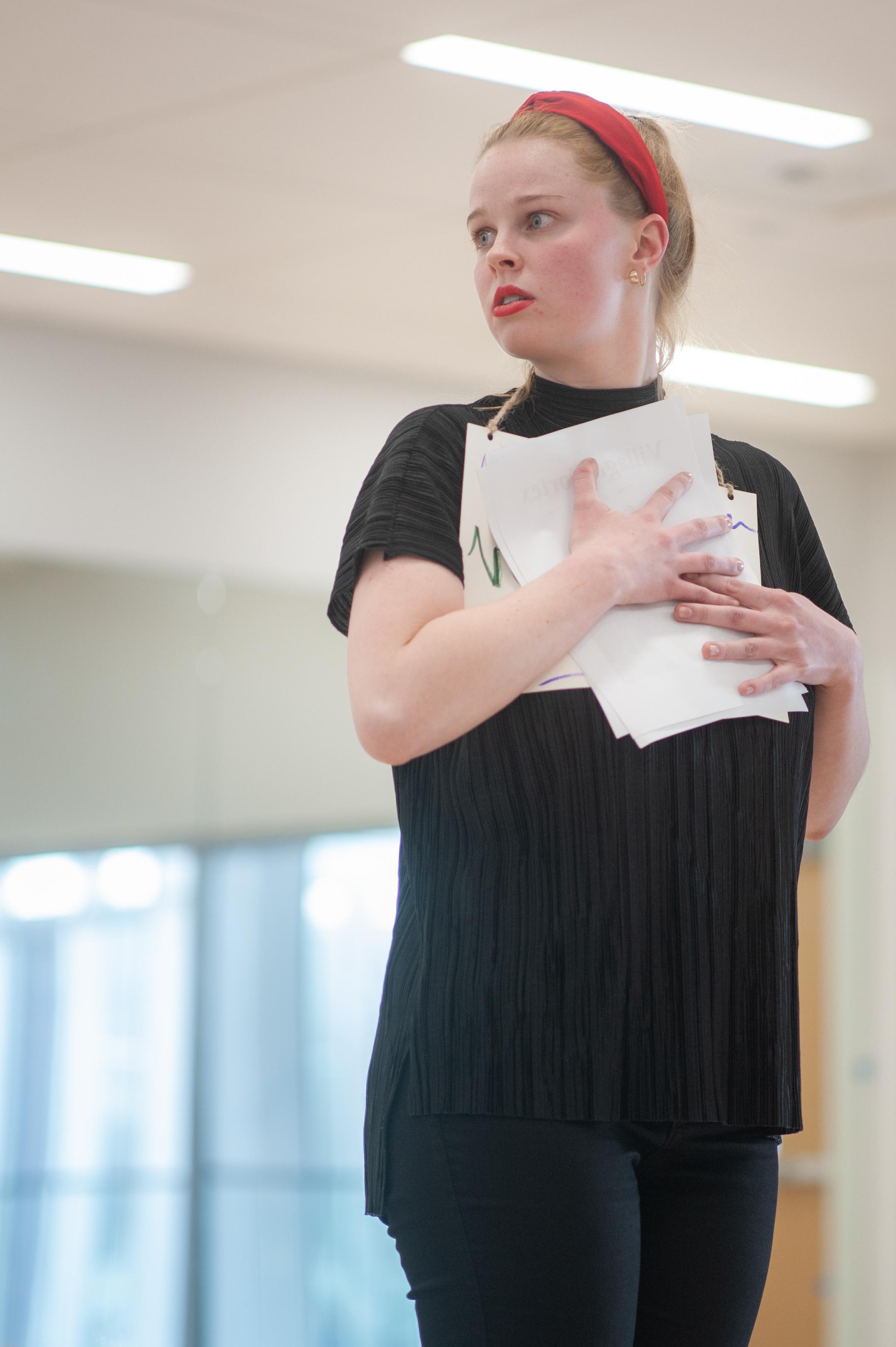 Student Spotlight: Kiersten Zundel finds her place in UVU theater program